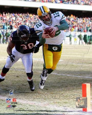 Aaron Rodgers 2010 NFC Championship Game Touchdown Run