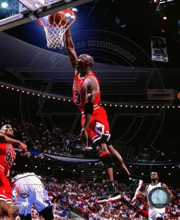 NBA Michael Jordan 1995-96 Action