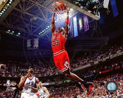 Michael Jordan 1996-97 Action
