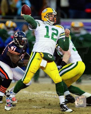 Aaron Rodgers 2010 NFC Championship Game Action