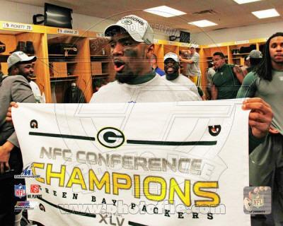 Charles woodson 2010 nfc championship game locker room celebration photo at - Charles woodson packers wallpaper ...
