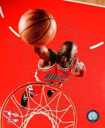 Michael Jordan 1995 Action