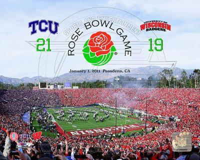 TCU Horned Frogs Rose Bowl Champions with Overlay