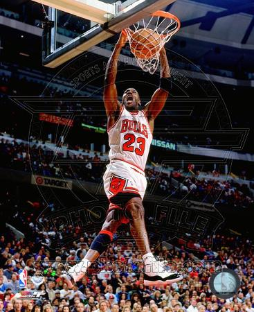 Michael Jordan 1996 Action