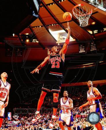 Michael Jordan 1998 Action