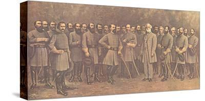 Robert E. Lee and His Generals