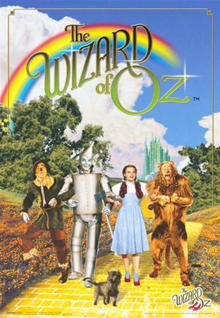Wizard of Oz - 3D Poster