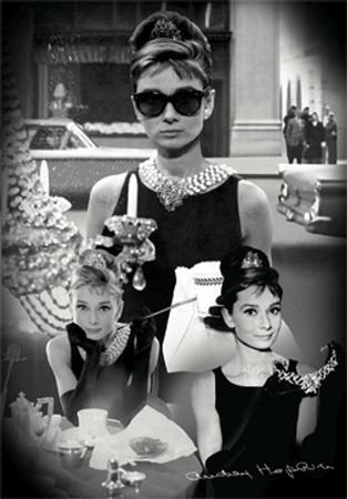 Audrey Hepburn - 3D Poster