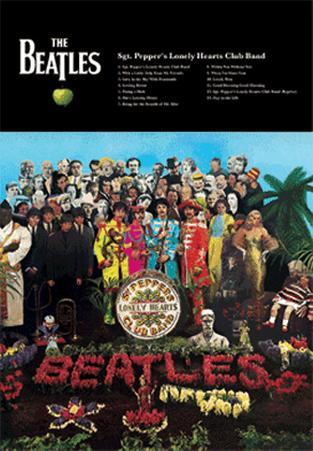 Beatles - Sgt Peppers - 3D Poster