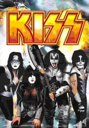 Kiss - - 3D Poster