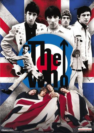 The Who - 3D Poster