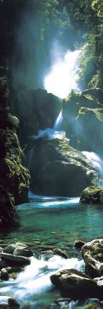 New Zealand - waterfall