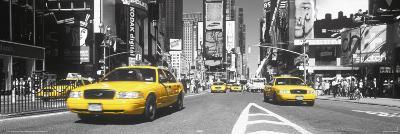 Times Square - yellow cab