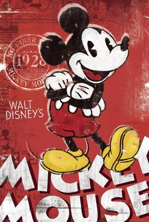 MICKEY MOUSE - Red