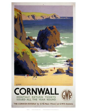 Cornwall Rocky Beach