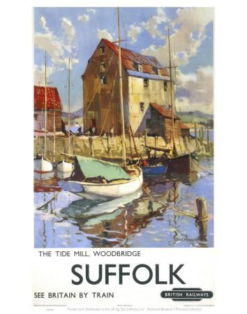 Suffolk, the Tide Mill Woodbridge