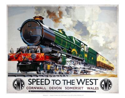 Speed to the West, Cornwall, Devon, Somerset, Wales GWR