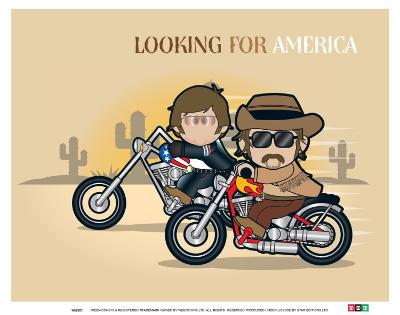Weenicons: Looking for America
