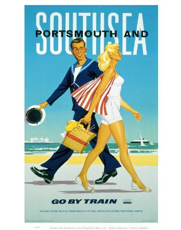Portsmouth and Southsea Go by Train