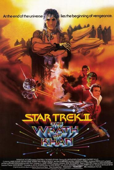 Image result for star trek ii poster