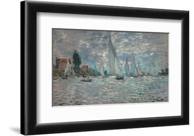 The Sailboats - Boat Race at Argenteuil, c. c.1874