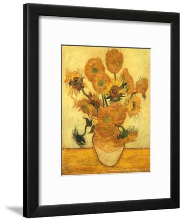 Vase of Fifteen Sunflowers, c.1889