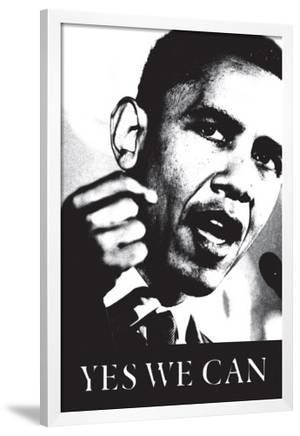 Obama Yes We Can Black And White Posters Allposters Com