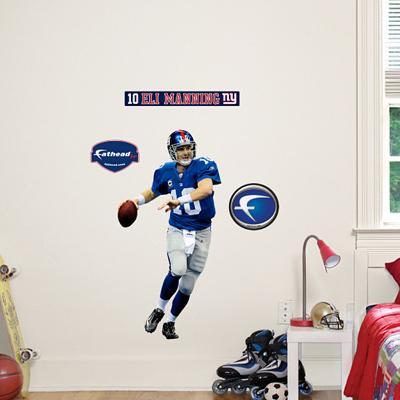 Eli Manning Fathead Junior