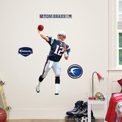Tom Brady Fathead Junior