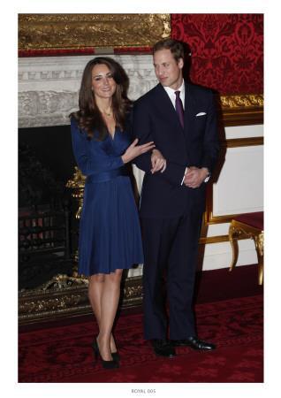 PrinceWilliamand KateMiddleton,Announcing their Engagementand Forthcoming Royal Wedding.