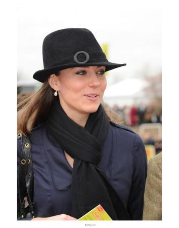 Kate Middleton at Cheltenham Festival