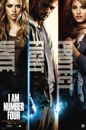 I Am Number 4 - Characters