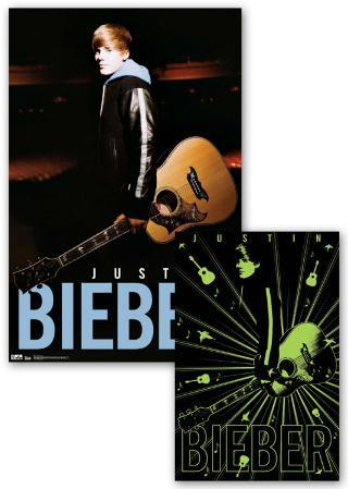 Justin Bieber - Notes - Glow Poster