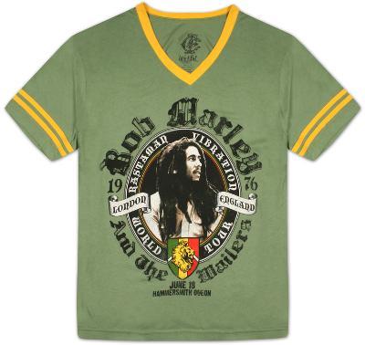 Bob Marley -  London Soccer Tee