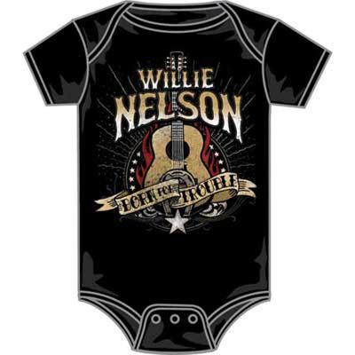 Infant: Willie Nelson - Born For Trouble Bodysuit