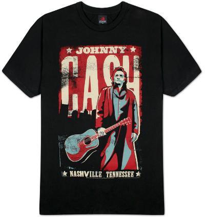 Johnny Cash - Nashville Poster