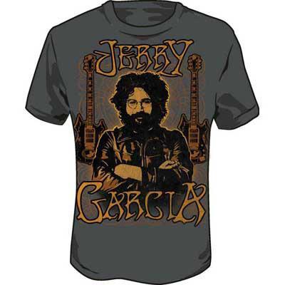 jerry garcia guitars t shirt at. Black Bedroom Furniture Sets. Home Design Ideas