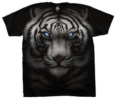 Majestic White Tiger