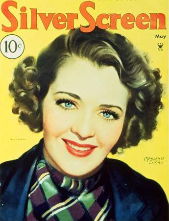 Ruby Keeler - Modern Screen Magazine Cover 1930's