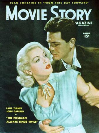 Lana Turner - Movie Story Magazine Cover 1940's