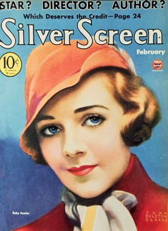 Ruby Keeler - Silver Screen Magazine Cover 1930's