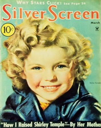 Temple, Shirley - Silver Screen Magazine Cover 1940's