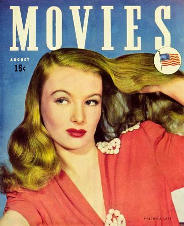 Lake, Veronica - Movies Magazine Cover 1930's