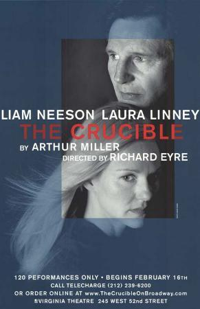 The Crucible - Broadway Poster