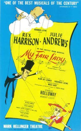 My Fair Lady - Broadway Poster , 1956
