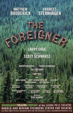The Foreigner - Broadway Poster