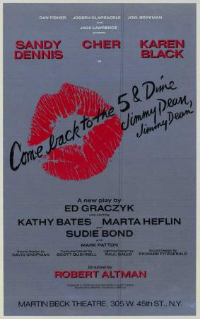 Come Back to the 5 & Dime Jimmy Dean, Jimmy Dean - Broadway Poster , 1982