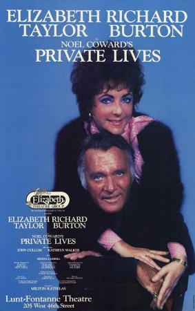 Private Lives - Broadway Poster , 1983