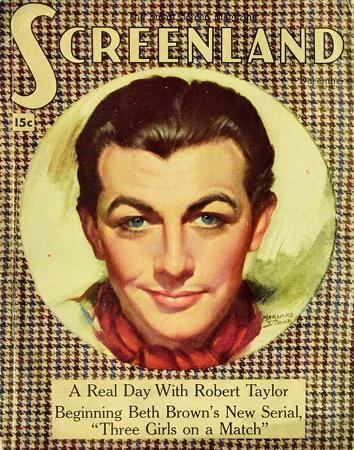 Robert Taylor - ScreenlandMagazineCover1930's