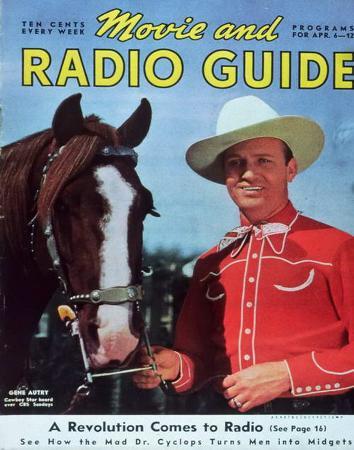 Gene Autry - MovieMirrorMagazineCover1930's